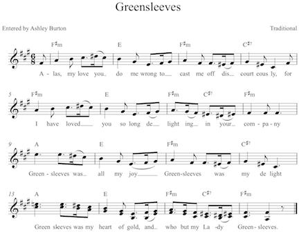 Greensleeves Ashley Rae Burton