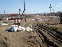 Проблем утилизации мусора в деревнях