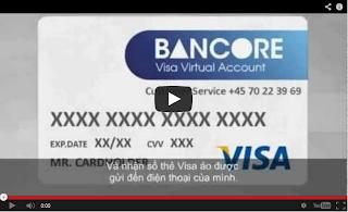 Thẻ Visa ảo BANCORE