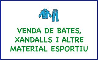 Botiga de bates, xandalls i altre material esportiu