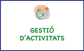 Gestió d'activitats