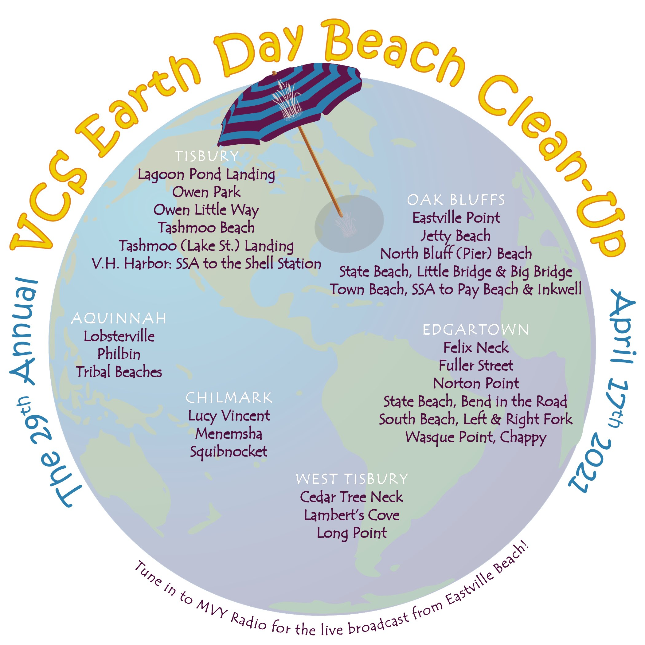 The Earth Day Beach Clean-Up