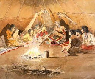 Storytelling Around A Fire