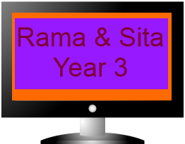 Rama and Sita Diwali Assembly Year 3