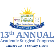 The 13th Annual Academic Surgical Congress