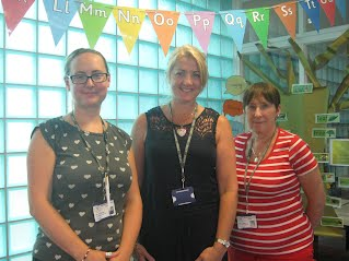 Mrs Savage, Mrs Marsh and Mrs Pullen Welcome You