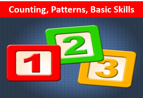 COUNTING PATTERNS, BASIC SKILLS