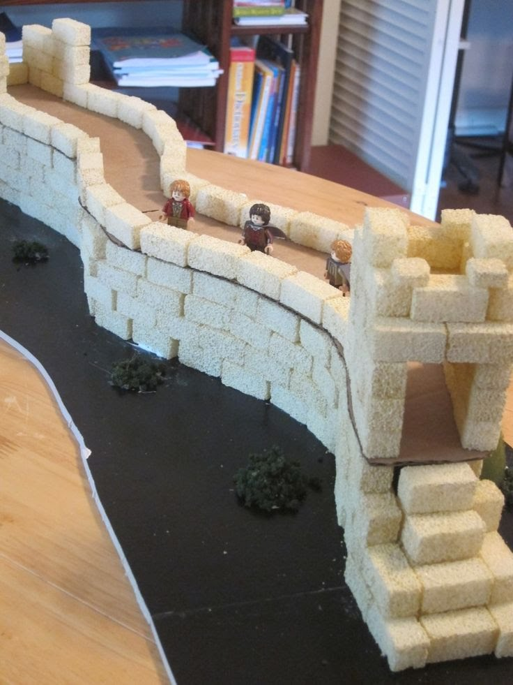 Build The Wall : Examples of how to build models th grade great wall