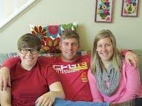 Logan, Ali, and Haley