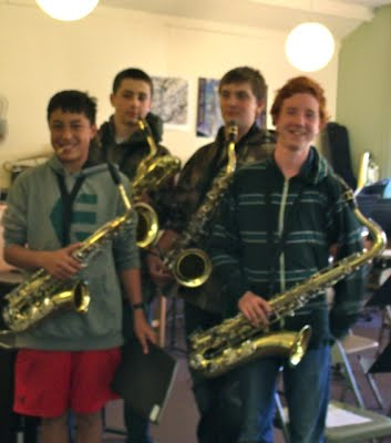 Middle School Jazz Band 2013