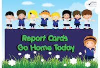 Image result for Report Cards go home