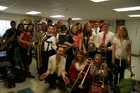 Jazz Band- Grades 7 and 8 - Mrs  Smith Music