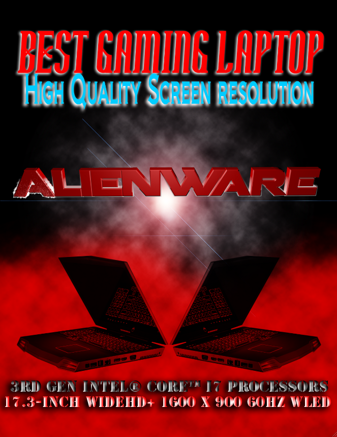 Advertisement flyer - Alienware