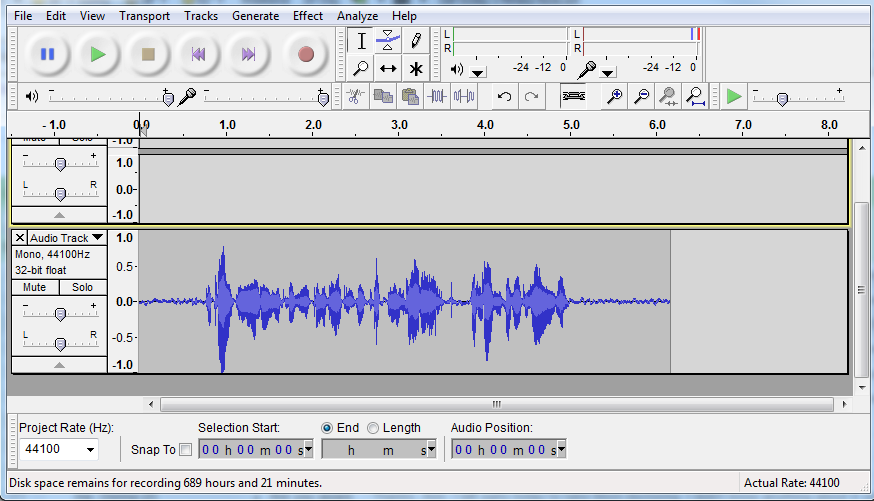 Audacity for Creating Podcasts - Distance Education