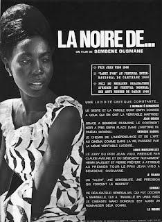 5. La Noire de . . . (Black Girl), 18 February