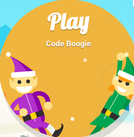 Click to code an elf to dance