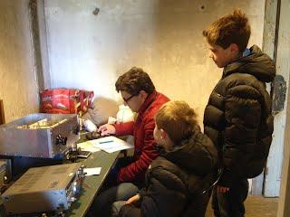 Fort bij Uithoorn Telegrafistenkamer