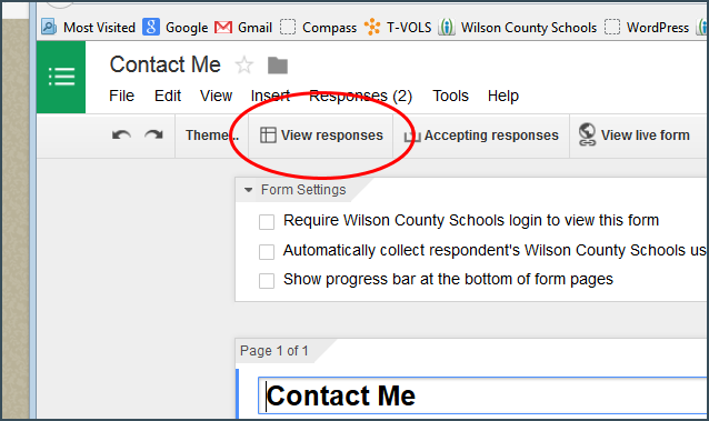 I. How to make your Contact Page send response to your Outlook ...