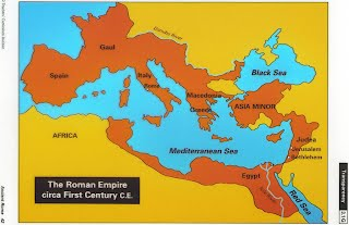 History Of Rome Girard - Ancient rome map roman empire