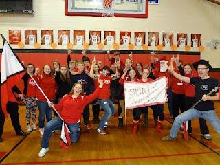 WHS showing their spirit!!!