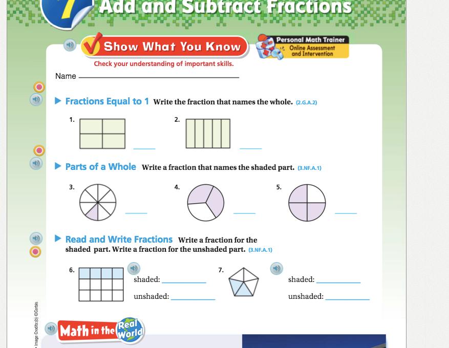 fractions problem solving