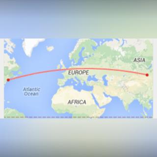 6,260 Miles Away