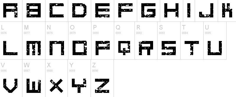 Block letter font sample abcs art at jms block letter font sample abcs thecheapjerseys Gallery