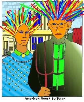 American Gothic Transformed