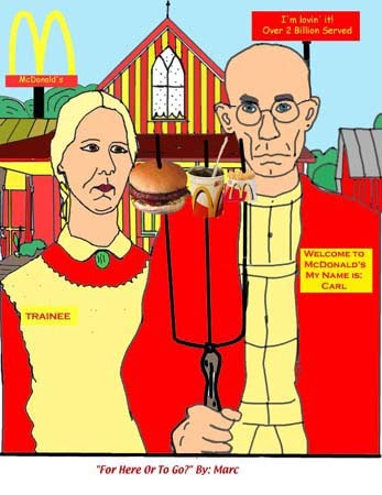 Learn More About American Gothic By Grant Wood