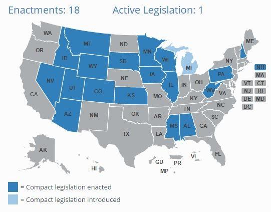 The progress of IMLC around the United States