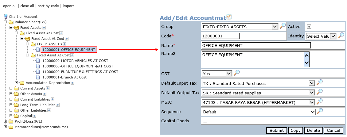 how to delete business gst account for taxi
