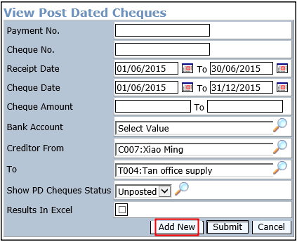 what is post- dated check