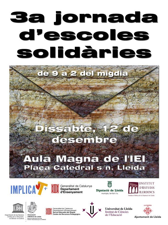 3a Jornada d'Escoles Solidàries