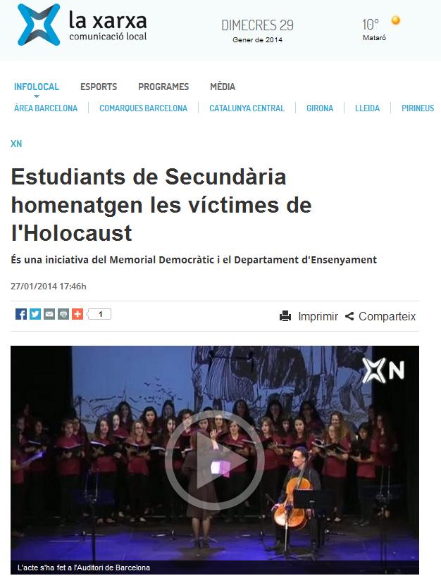 http://www.laxarxa.com/noticia/estudiants-de-secundaria-homenatgen-les-victimes-de-l-holocaust