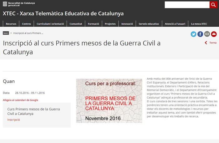 http://memorialdemocratic.gencat.cat/ca/detalls/Activitats_Agenda/Curs-Primers-mesos-de-la-Guerra-Civil-Espanyola