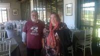Begoña Malo juntament amb el seu marit Sr. Gil