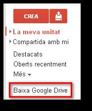 Programa Google Drive