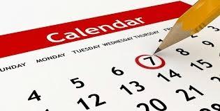 Calendari 2018-2019