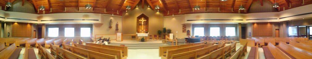 Inside Saint Benedict Church