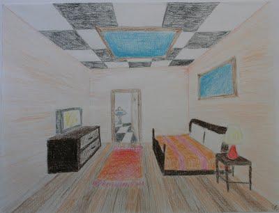 One Point Perspective Room - 2012SpringDPGabby
