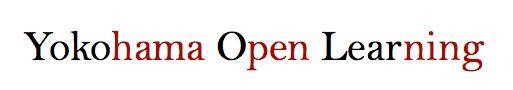 http://yokohamaopenlearning.org