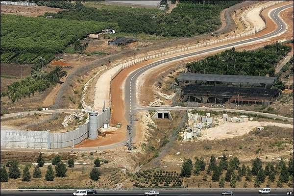 Apartheid Wall - West Bank