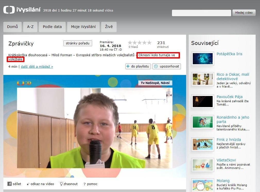 http://www.ceskatelevize.cz/ivysilani/10265744641-zpravicky/218411000160416