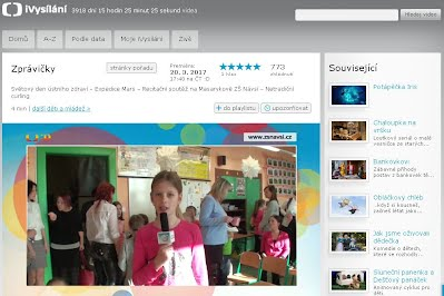 http://www.ceskatelevize.cz/ivysilani/10265744641-zpravicky/217411000160320