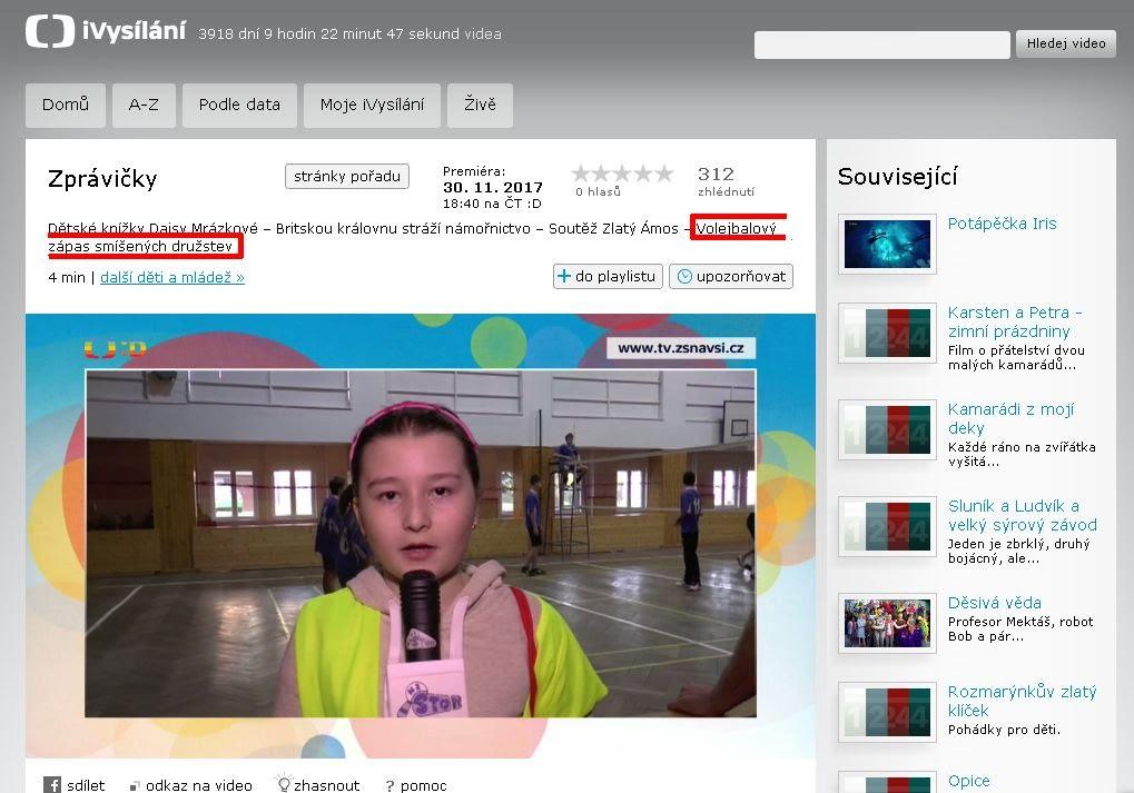 http://www.ceskatelevize.cz/ivysilani/10265744641-zpravicky/217411000161130
