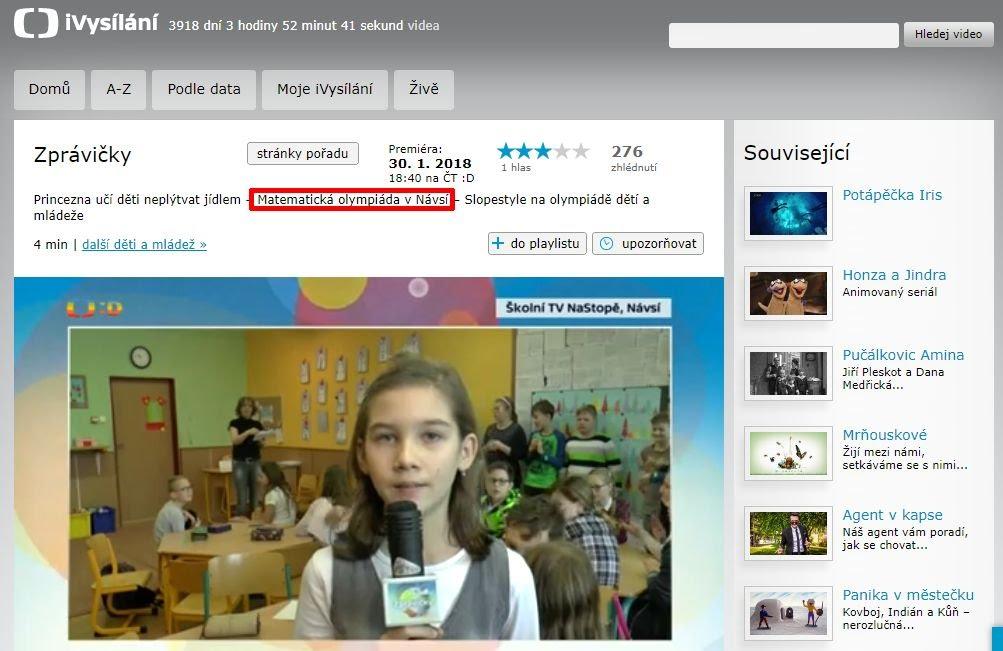 http://www.ceskatelevize.cz/ivysilani/10265744641-zpravicky