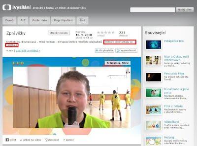 http://www.ceskatelevize.cz/ivysilani/10265744641-zpravicky/218411000160411