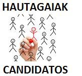 Hautagaiak / Candidatos
