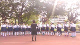 直笛隊賽前練習