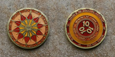 event geocoin